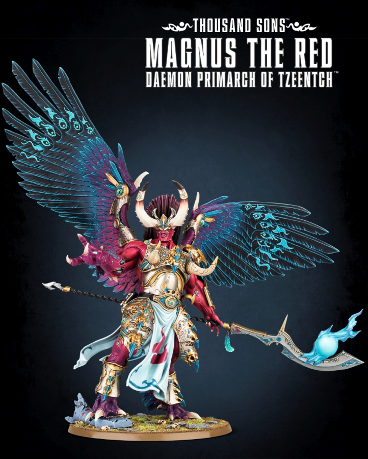 Warhammer 40,000 - Thousand Sons - Magnus The Red