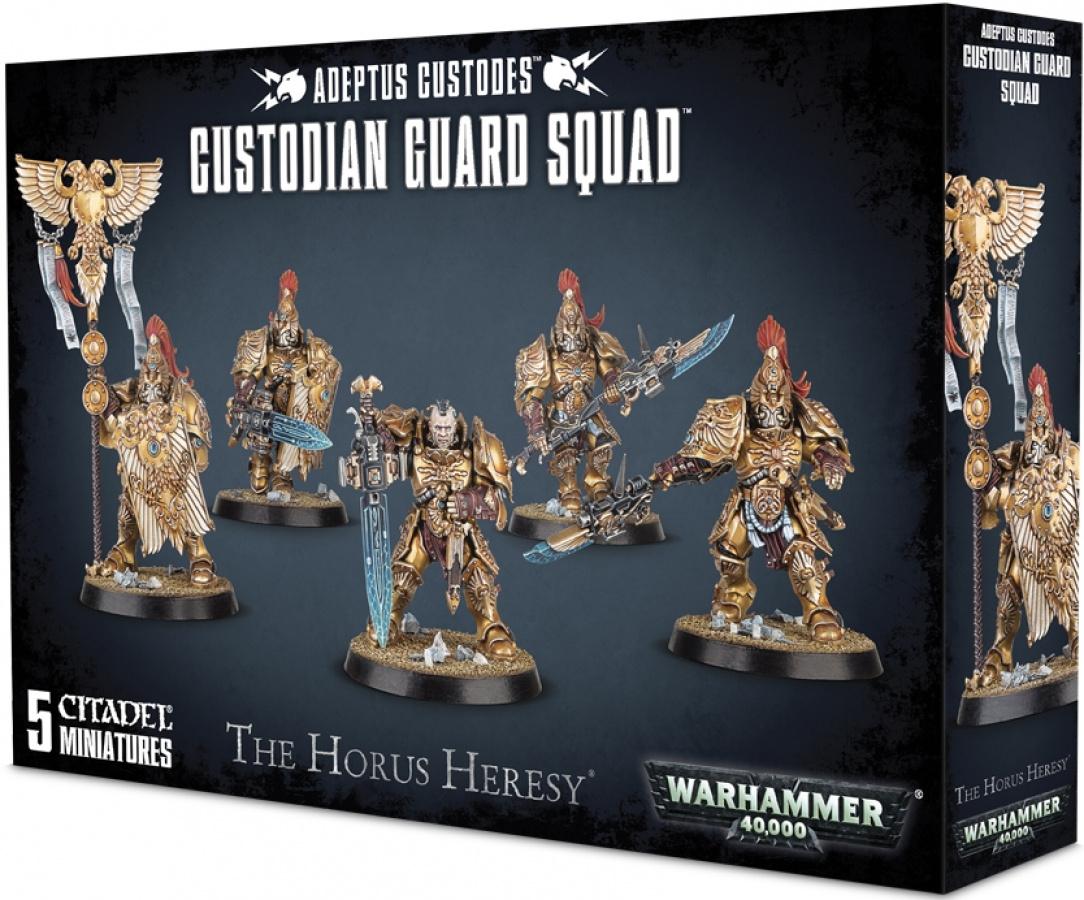 Warhammer 40,000: Adeptus Custodes - Custodian Guard Squad