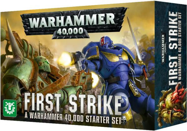 Warhammer 40,000 - First Strike - Easy to Build Starter Set