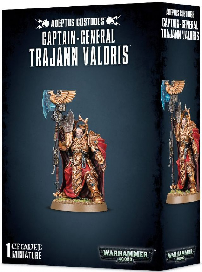 Adeptus Custodes: Captain-General Trajann Valoris