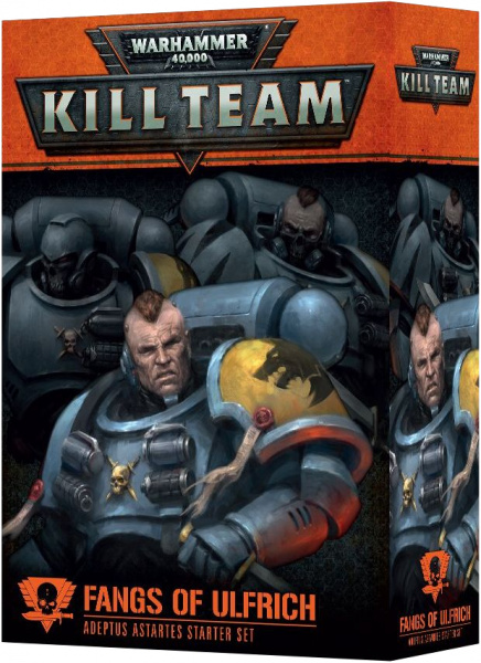 Warhammer 40,000: Kill Team - Adeptus Astartes Starter Set - Fangs of Ulfrich