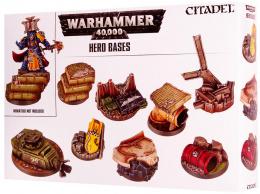 Warhammer 40,000 - Hero Bases