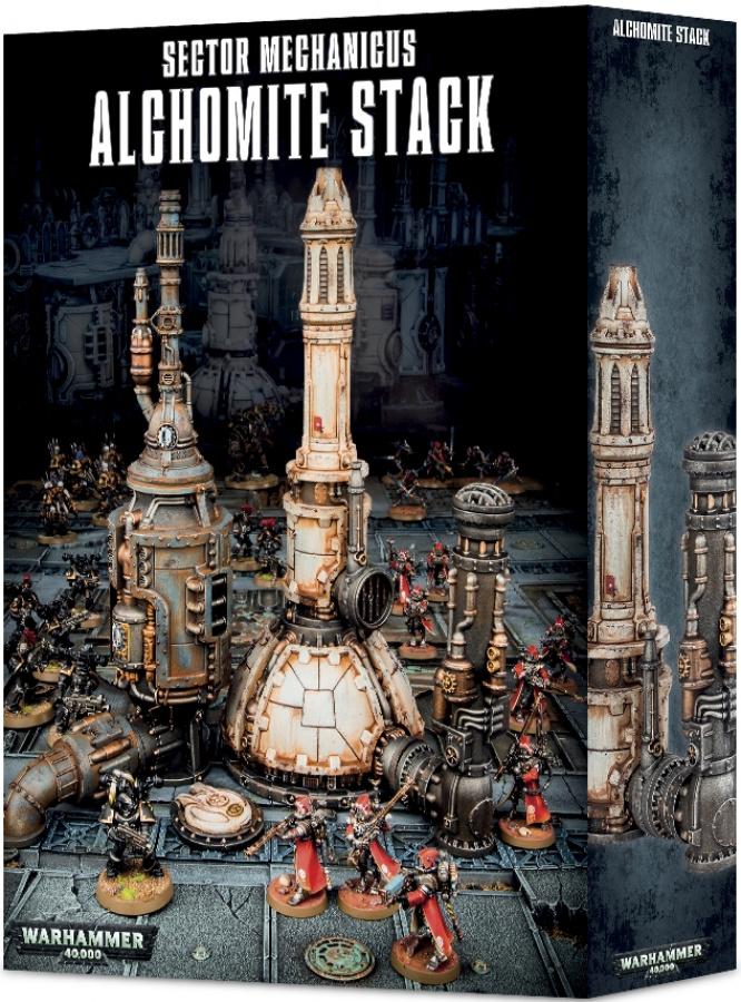 Sector Mechanicus: Alchomite Stack