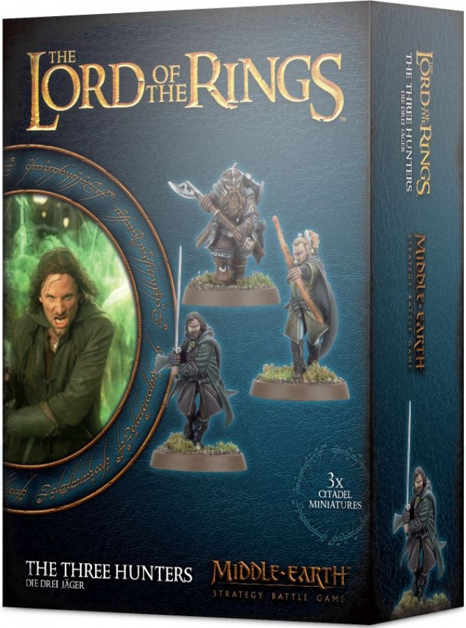 The Lord of the Rings: Middle-Earth Strategy Battle Game - The Three Hunters