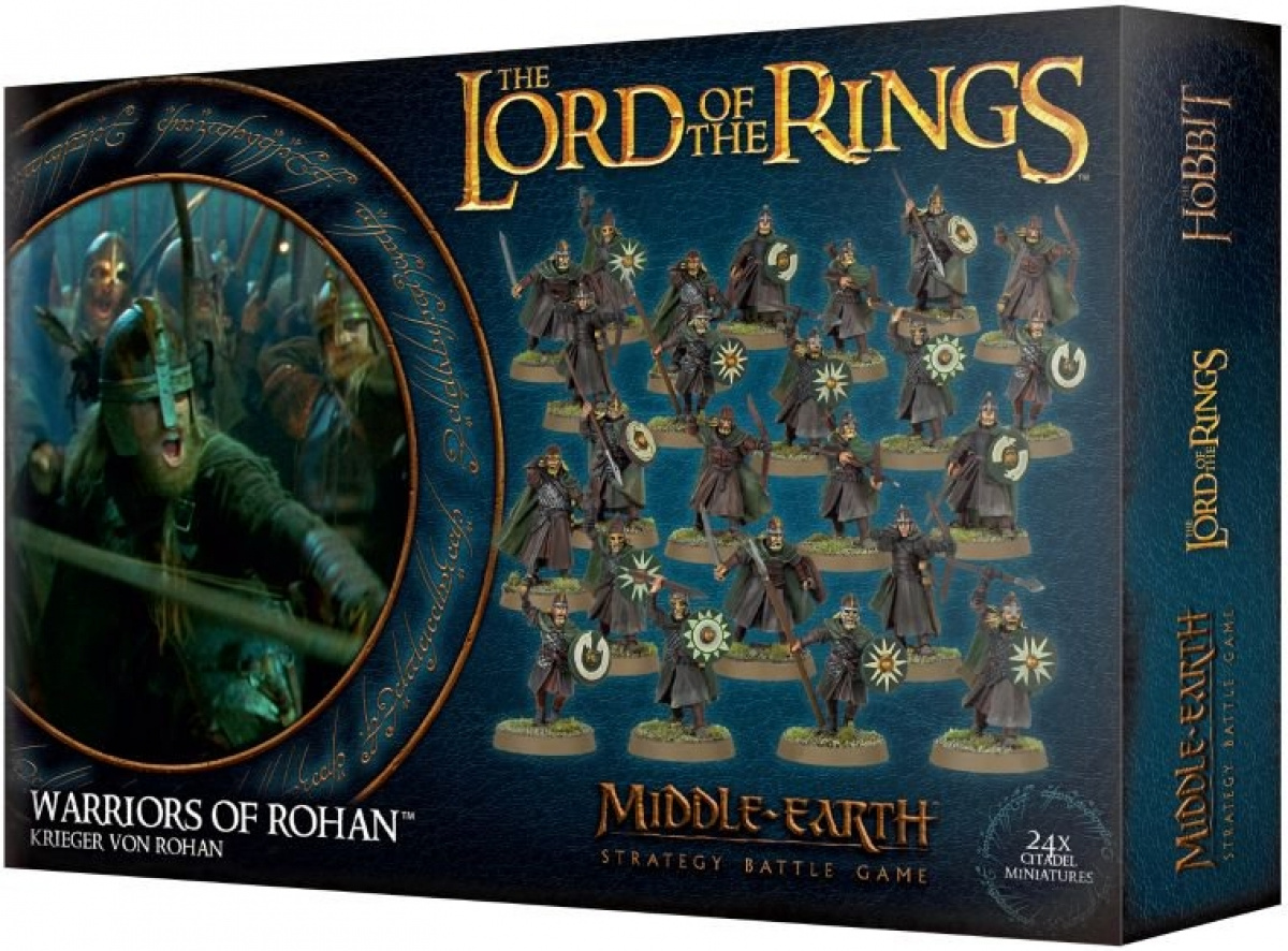 The Lord of the Rings: Middle-Earth Strategy Battle Game - Warriors of Rohan