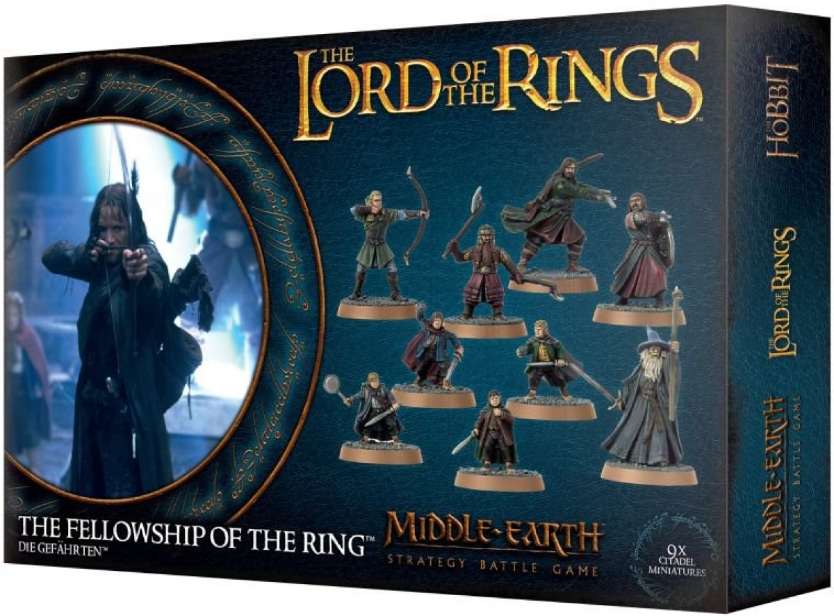 The Lord of the Rings: Middle-Earth Strategy Battle Game - Fellowship Of The Ring