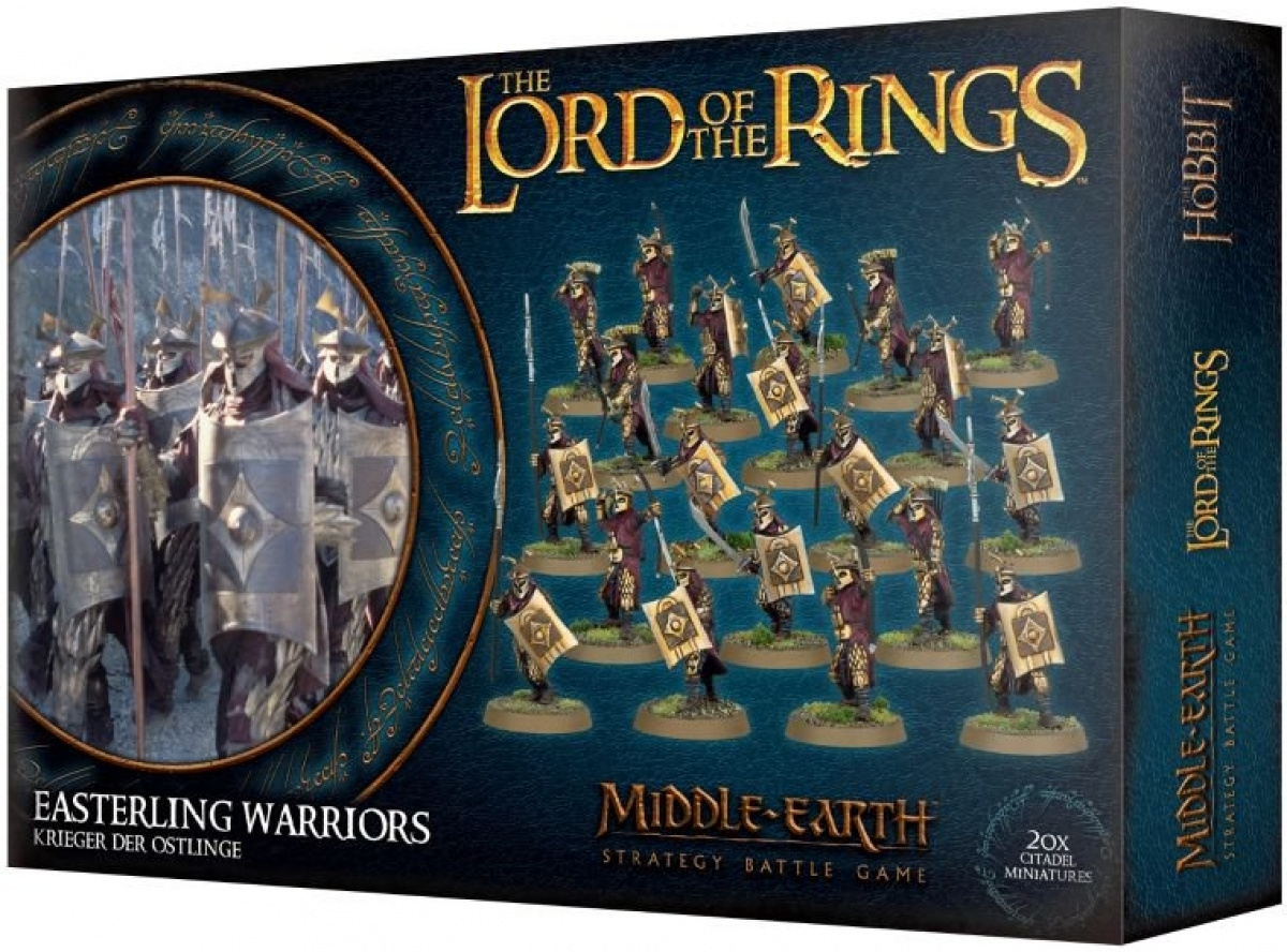 The Lord of the Rings: Middle-Earth Strategy Battle Game - Easterling Warriors
