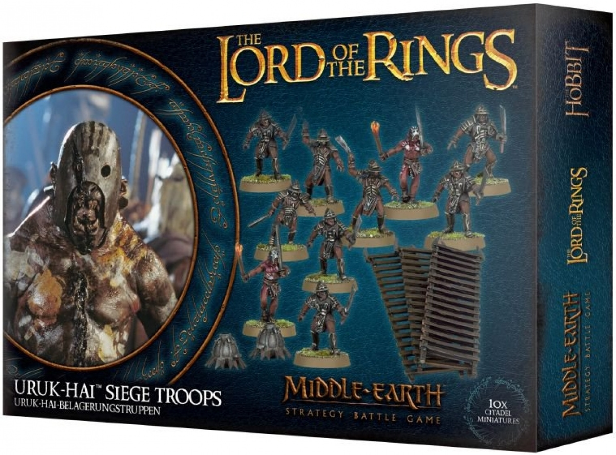 The Lord of the Rings: Middle-Earth Strategy Battle Game - Uruk-hai Siege Troops