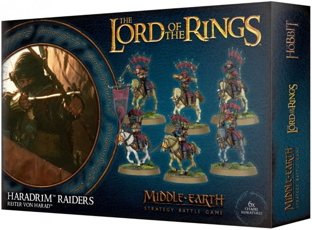 The Lord of the Rings: Middle-Earth Strategy Battle Game - Haradrim Raiders