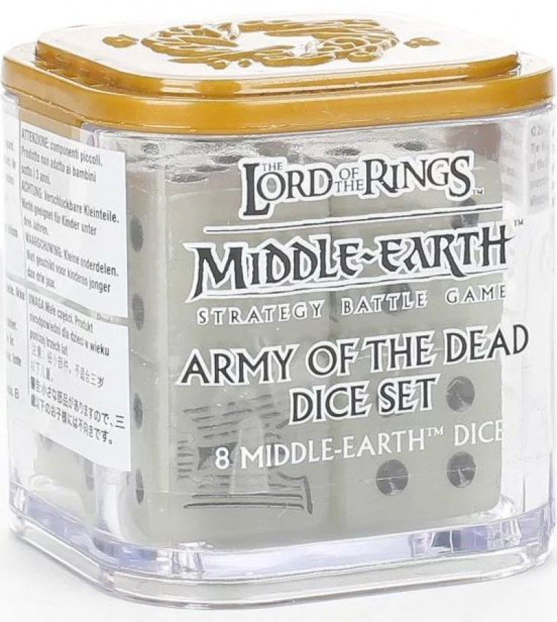 The Lord of the Rings: Middle-Earth Strategy Battle Game - Armies of The Dead - Dice