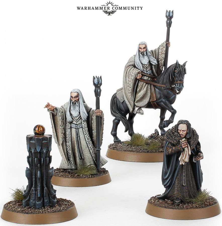 The Lord of the Rings: Middle-Earth Strategy Battle Game - Saruman the White & Grima