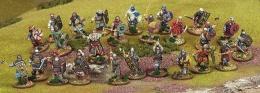 Saga: Dark Age Skirmishes - Jomsviking Warband (4 points)