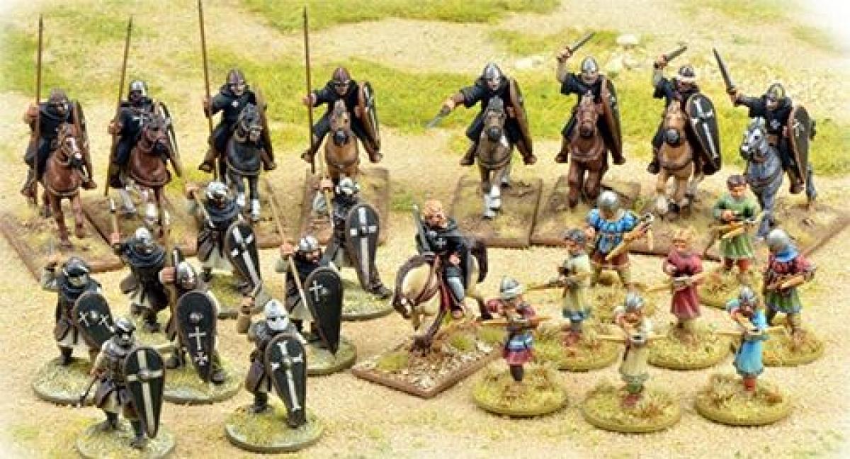 Saga: The Crescent & the Cross - Milites Christi Warband (4 points)