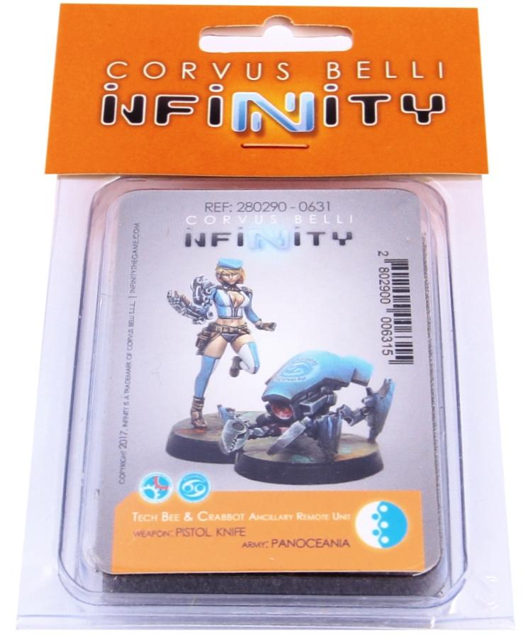 Infinity - Panoceania: Tech Bee & Crabbot ARU (pistol, knife)