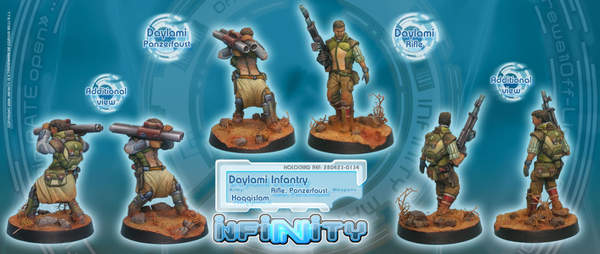 Daylami Infantry (Rifle, Panzerfaust) - Daylami