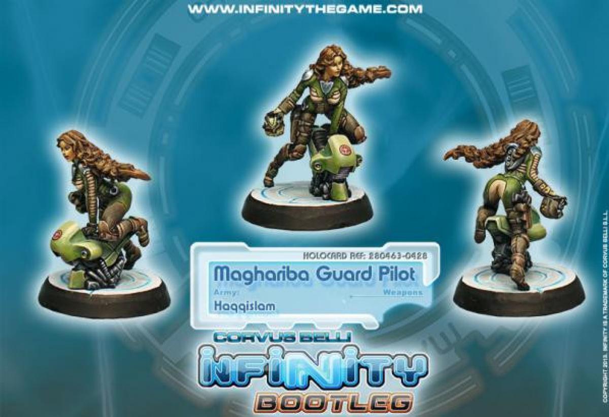 Infinity: Haqqislam - Maghariba Guard Pilot