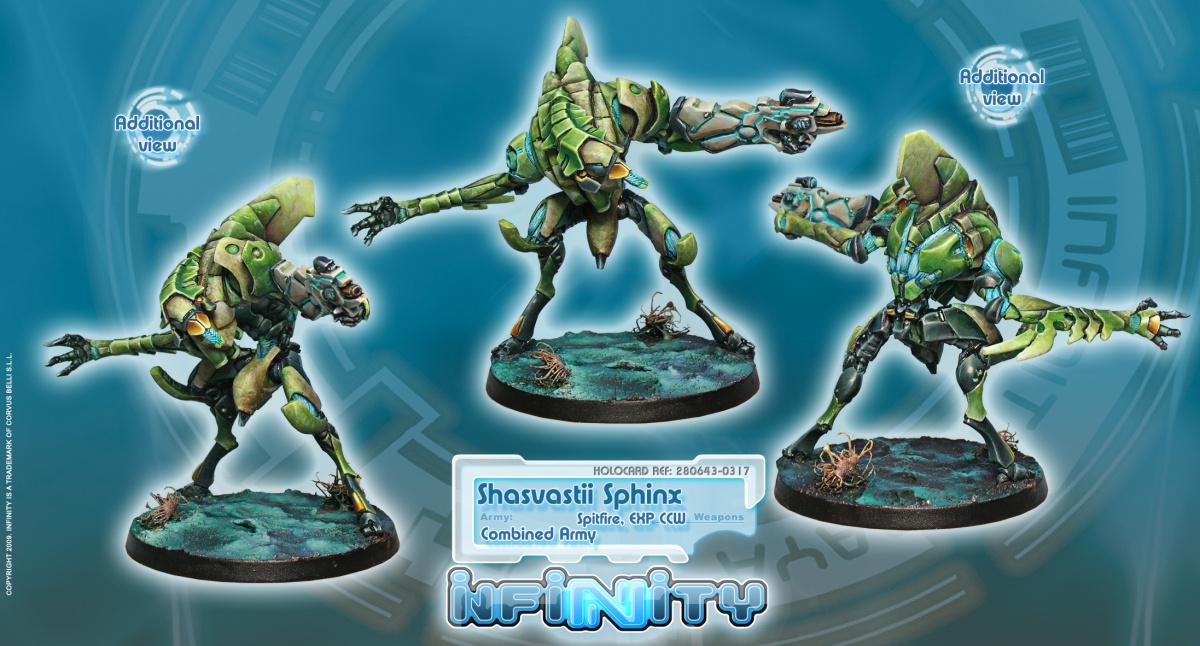 Shasvastii Armored Corps Sphinx (TAG)