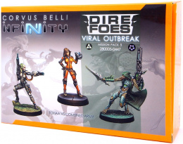 Infinity: Dire Foes - Viral Outbreak - Mission Pack 5