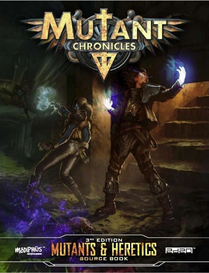 Mutant Chronicles RPG (3rd Edition) - Mutants & Heretics Source Book