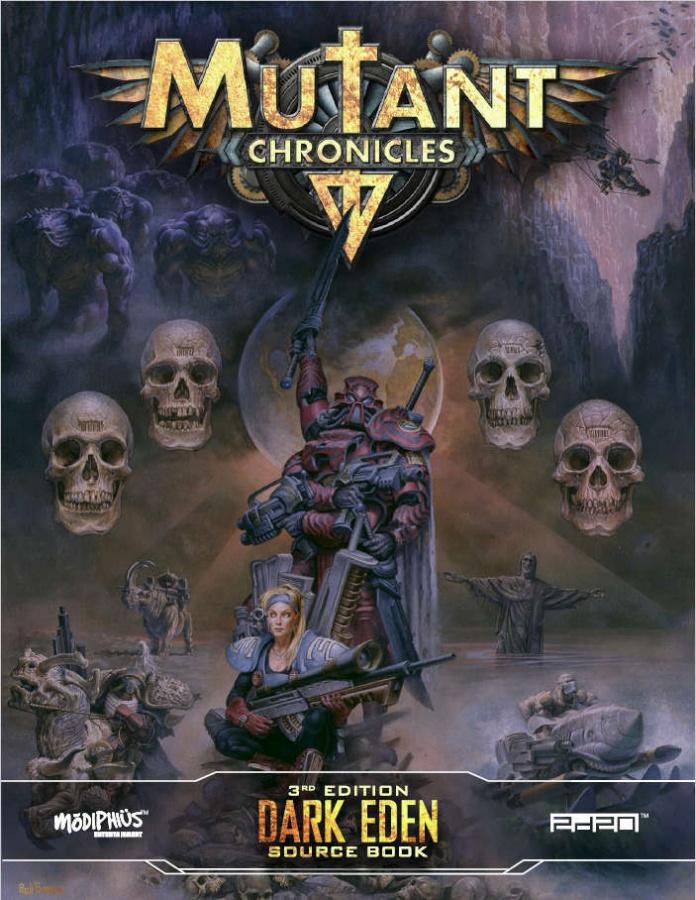 Mutant Chronicles RPG (3rd Edition) - Dark Eden Source Book