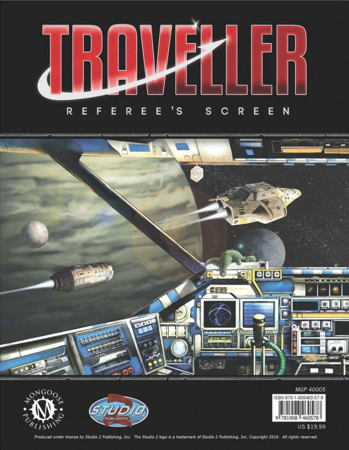 Traveller: Referee's Screen (2016 ed.)