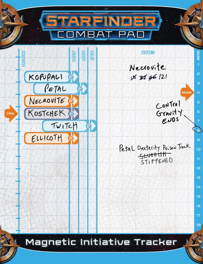 Starfinder: Combat Pad