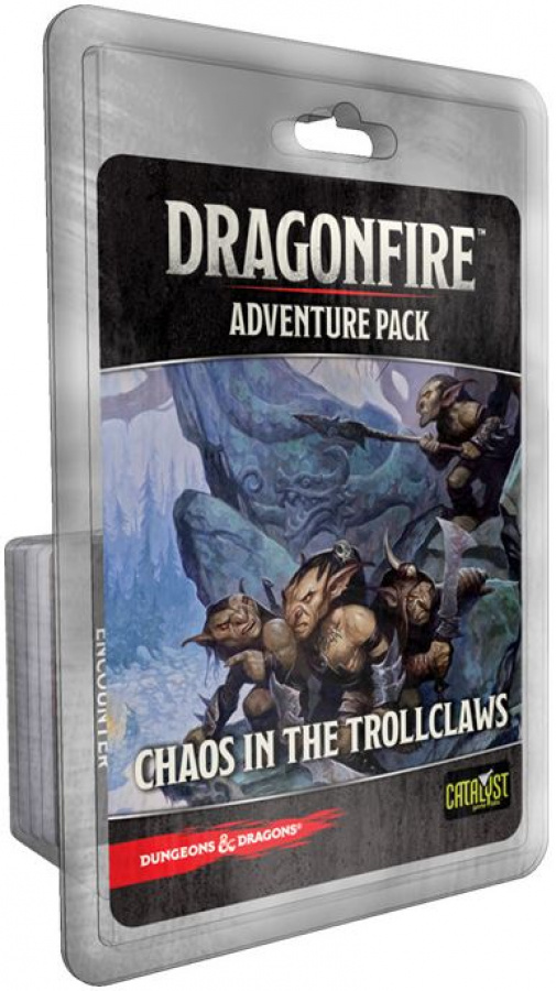 Dragonfire: Adventure Pack - Chaos in the Trollclaws