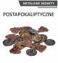 Metalowe monety - Postapokaliptyczne (zestaw 24 monet)