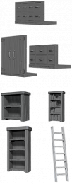 WizKids Deep Cuts: Unpainted Miniatures - Archivist Library