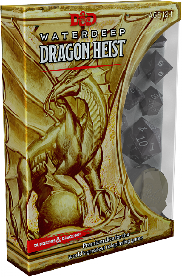 Komplet kości - D&D 5.0: Waterdeep - Dragon Heist