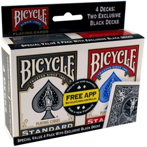 Bicycle: 4 Pack Rider Back