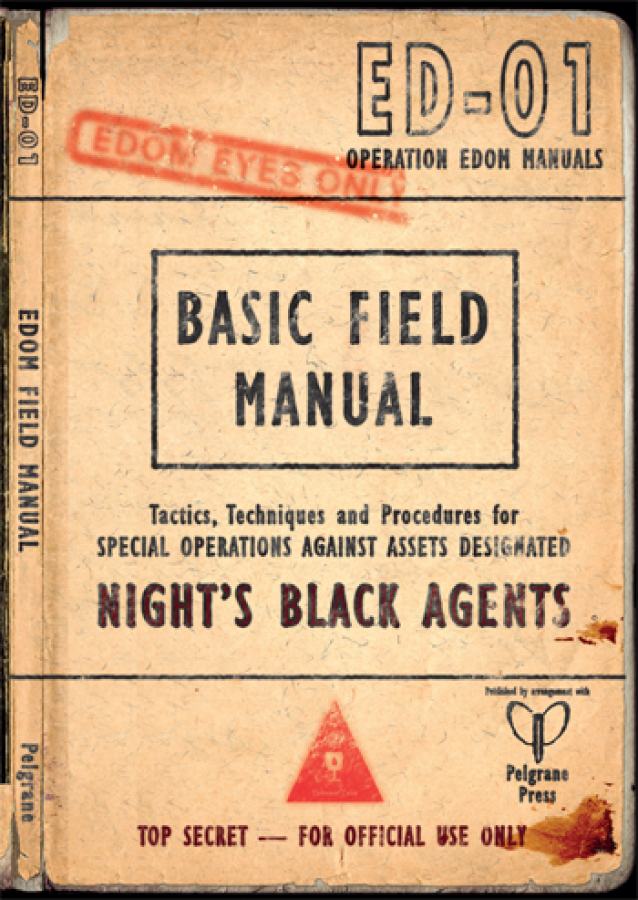 Night's Black Agents: The Dracula Dossier - The Edom Field Manual