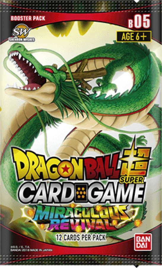 Dragon Ball Super Card Game: Miraculous Revival - Booster Pack