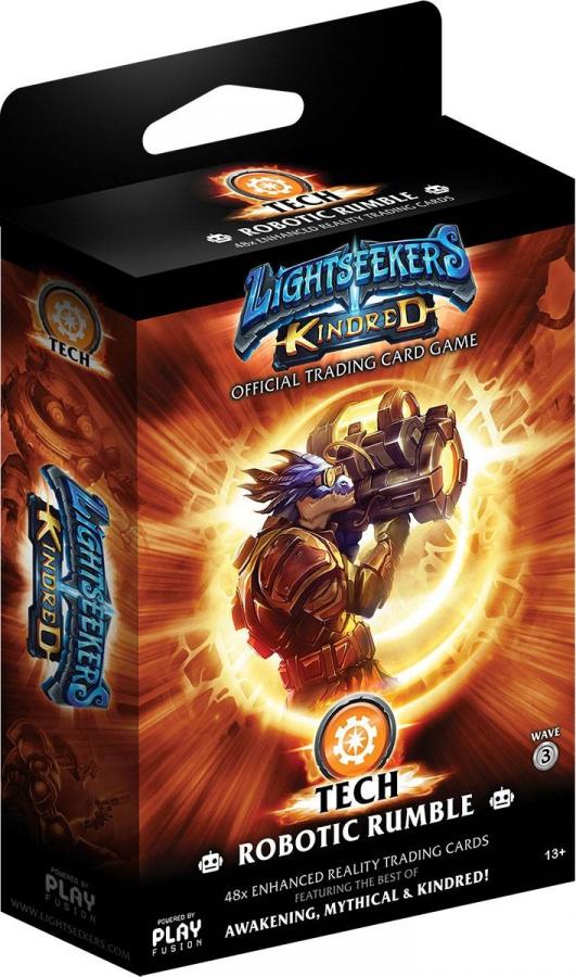 Lightseekers TCG: Kindred - Tech - Robotic Rumble
