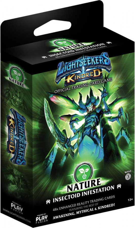 Lightseekers TCG: Kindred - Nature - Insectoid Infestation