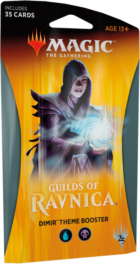 Magic The Gathering: Guilds of Ravnica - Dimir Theme Booster