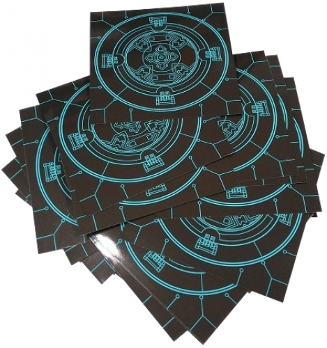 Pokój 25: Koszulki na karty pomieszczeń (74x74 mm), 40 sztuk