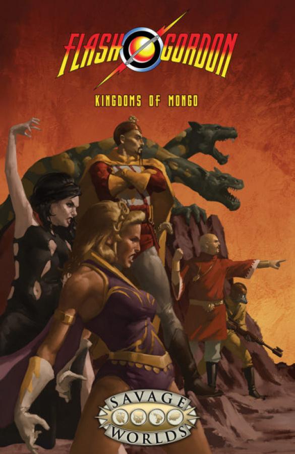 Flash Gordon Roleplaying Game: Kingdoms of Mongo (miękka oprawa)