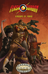 Flash Gordon Roleplaying Game: Kingdoms of Mongo (miękka oprawa)