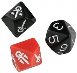 Vampire: The Masquerade 5th Edition - Dice Set