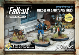 Fallout: Wasteland Warfare - Survivors - Heroes of Sanctuary Hills