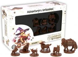 Animal Adventures: Tales of Dungeons & Doggies - Adventures Unleashed - Volume 1