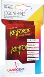 Gamegenic: KeyForge - Logo Sleeves Red