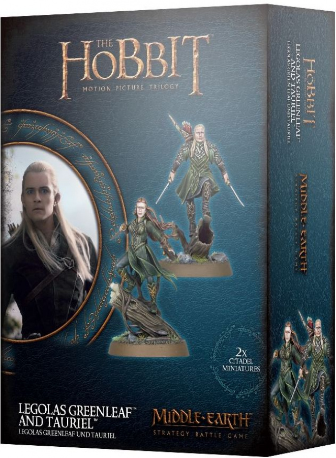 The Lord of the Rings: Middle-Earth Strategy Battle Game - Legolas Greenleaf and Tauriel