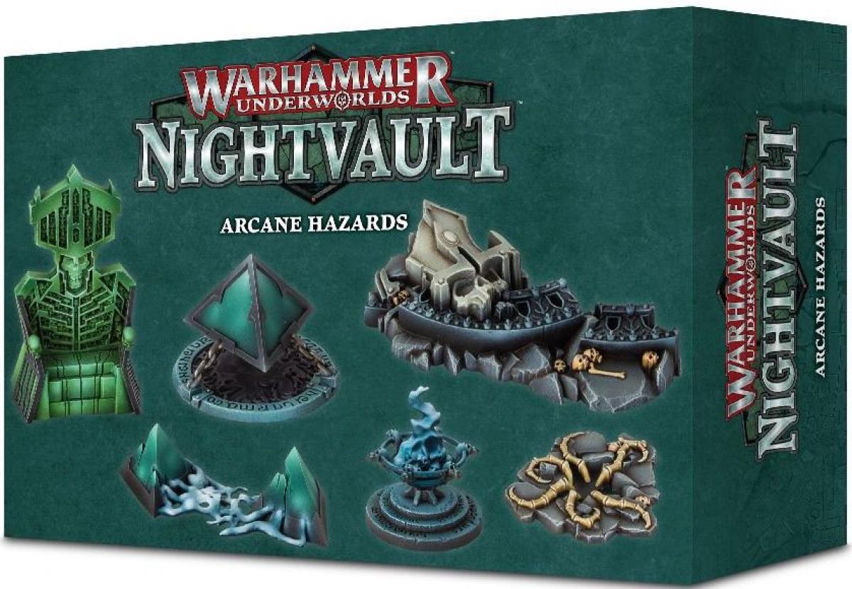 Warhammer Underworlds: Nightvault - Arcane hazards
