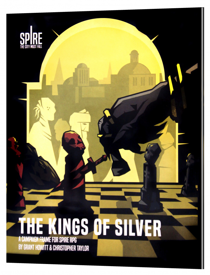 Spire RPG: The Kings Of Silver Source Book
