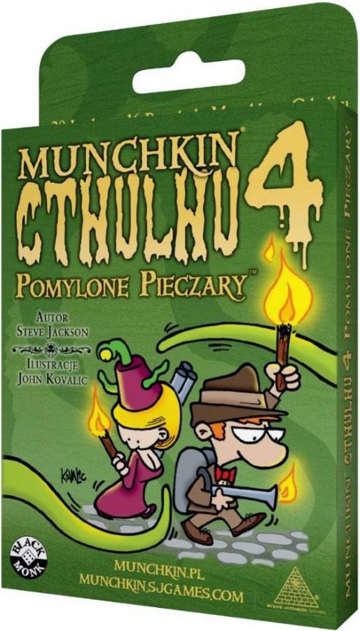 Munchkin Cthulhu 4 - Pomylone Pieczary