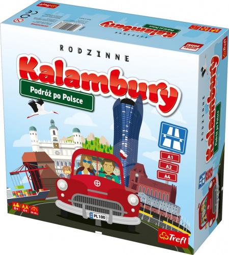 Rodzinne kalambury: Podróż po Polsce