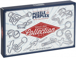 Professor Puzzle - Puzzle & Perplex - The Ultimate Metal Puzzle Collection - Set of 10