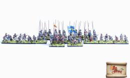 Ogniem i Mieczem - Królestwo Szwecji - Regiment szwedzkiej piechoty krajowej